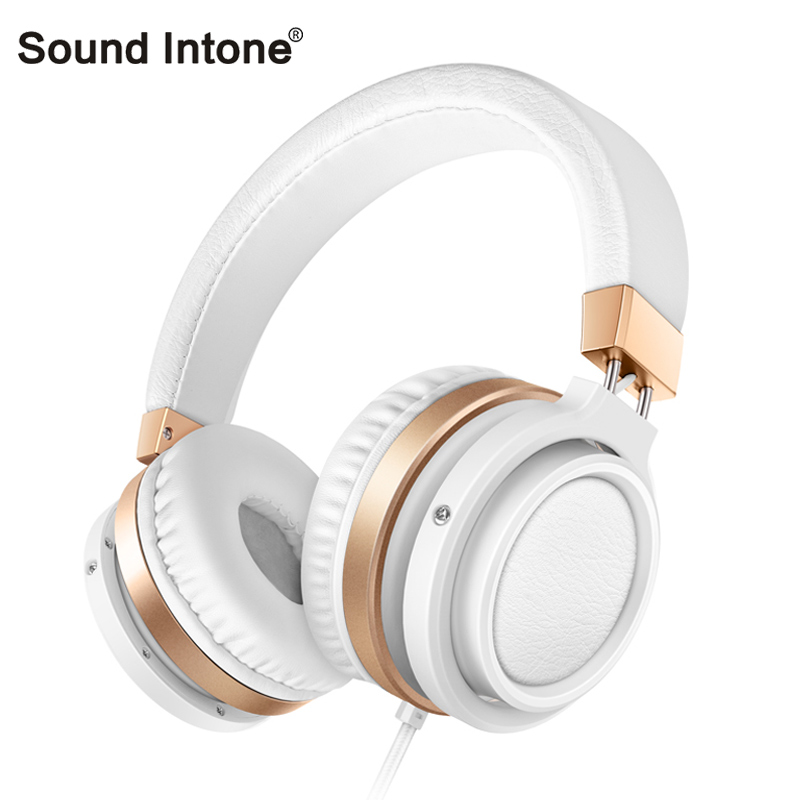 Sound Intone C1 Stereo Deep Bass wired Headset music Earphone Computer headphones and Volume Control with microphone for laptop  symrun headphones stereo headset with microphone earphone for phone and laptop bluetooth headphones wireless or wired deep bass