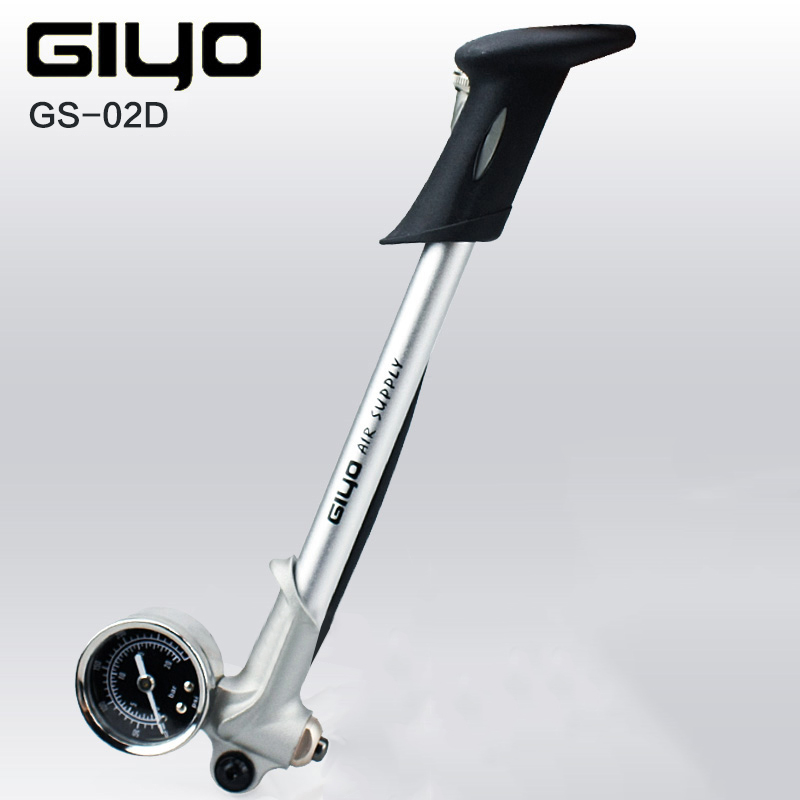 2017 GIYO GS02D 300psi High pressure shock mini portable inflator bicycle riding Cycling equipment free shipment inflatable <font><b>pump</b></font>