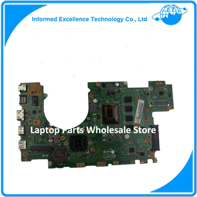 Laptop motherboard para asus x502ca x402ca rev2.1 com 2117 cpu mainboard totalmente teated 60nb00i0-mb5080 8 mb de memória