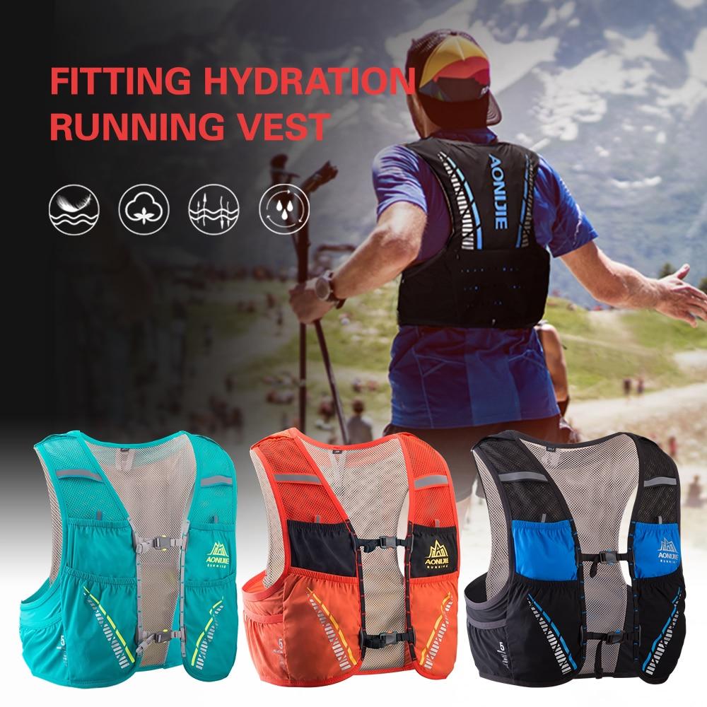 Outdoor Mesh Hydriton Vest Breathable Running Vest Cycling Marathon Climbing Rucksack Bag Gift Emergency Blanket