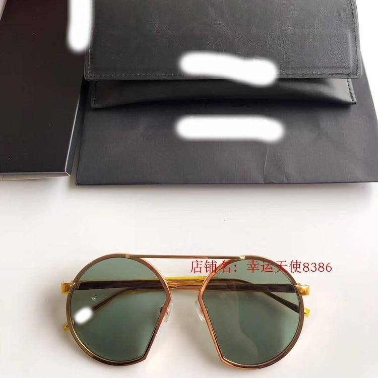 2019 роскошные взлетно посадочной полосы Солнцезащитные очки Мужские брендовые дизайнерские солнцезащитные очки для женщин Картер очки Y04116