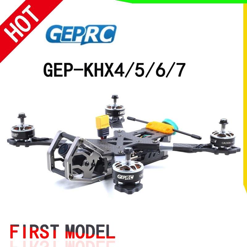 GEPRC élégant hybride-X FPV kit de cadre en fibre de carbone GEP-KHX4/KHX5/KHX6/KHX7 w/PDB 5 V & 12 V pour Drone RC modèle bricolage course quadrirotor