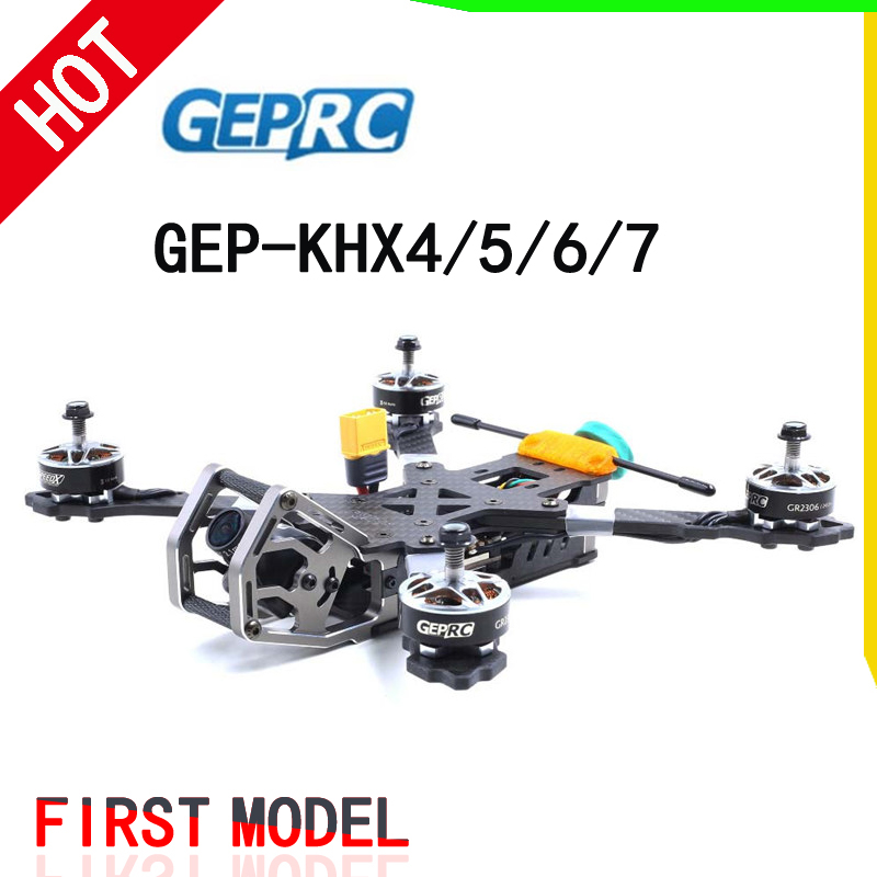 GEPRC Elegant Hybrid-X FPV Frame Kit Carbon Fiber GEP-KHX4/KHX5/KHX6/KHX7 W/ PDB 5V&12V For RC Drone Model DIY Racing Quadcopter