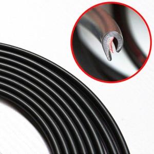 Image 5 - 5M Universal Car Door Edge Guards Trim Molding Protection Strip Scratch Protector For Toyota Camry Prado Corolla Prius RAV4