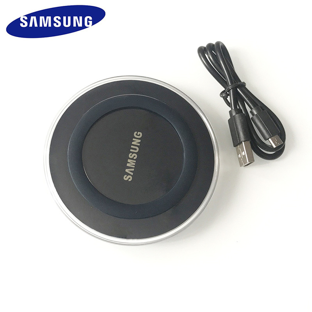 5V/2A QI Wireless Charger Charge Pad with micro usb cable For Samsung Galaxy S7 S6 EDGE S8 S9 S10 Plus for Iphone 8 X XS MAX XR 3
