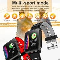 men waterproof New Smart Watch Waterproof Blood Pressure Measurement Smartwatch Men Bluetooth Fitness Tracker Women Watches For Android Phone (4)
