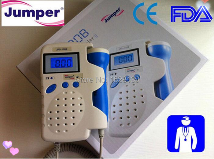 Backlight LCD 2.5 MHz Fetal Doppler Fetal Heart Monitor Rechargeable Batteries Gel CE FDA baby monitor with Built-in loudspeaker new arrival 2 5 mhz fetal doppler fetal heart monitor with lcd display
