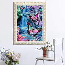 DIY diamond painting Butterfly spring edge 5d icon embroidery mosaic decoration new year gift