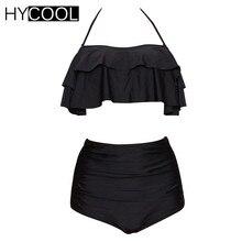 HYCOOL 2017 Frauen Bademode Badeanzug Monokini Sport Solide Mesh One-shoulder Badeanzug Frauen Schwimmen Anzug 3XL