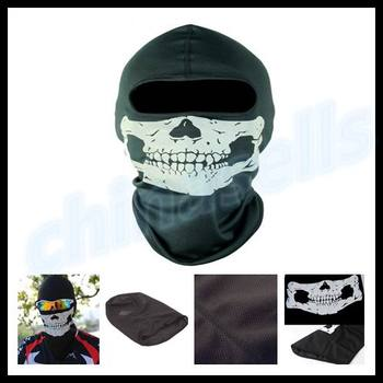 20pcs Horror Party Halloween Mask bicycle motorcycle Ghost skull hood face mask ski balaclava CS Sport helmet snood Ghost Scarf