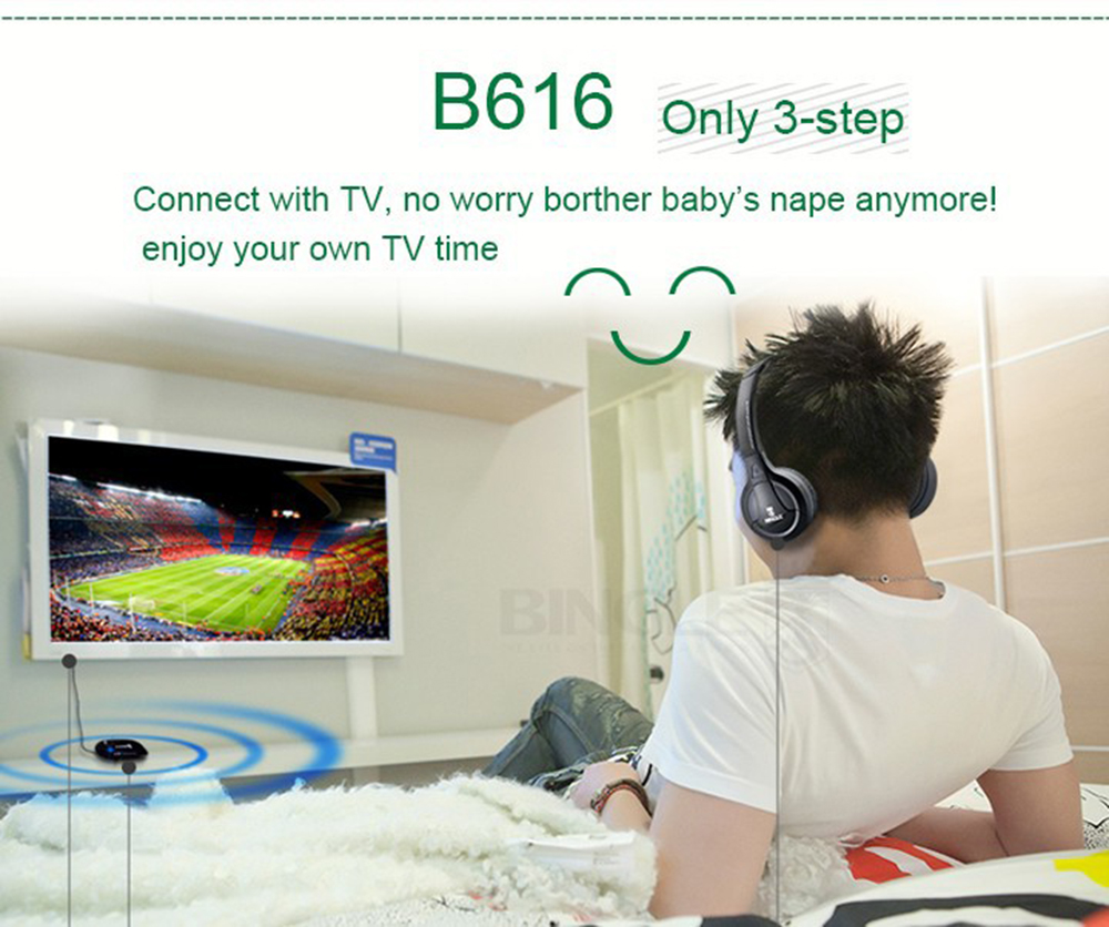 US $20 06 66% OFF|Multiple TV Audio Watching Listening Hearing Wireless  Headphones Headsets With Transmitter For Apple,Sony,Samsung,Xiaomi,Lg TV-in