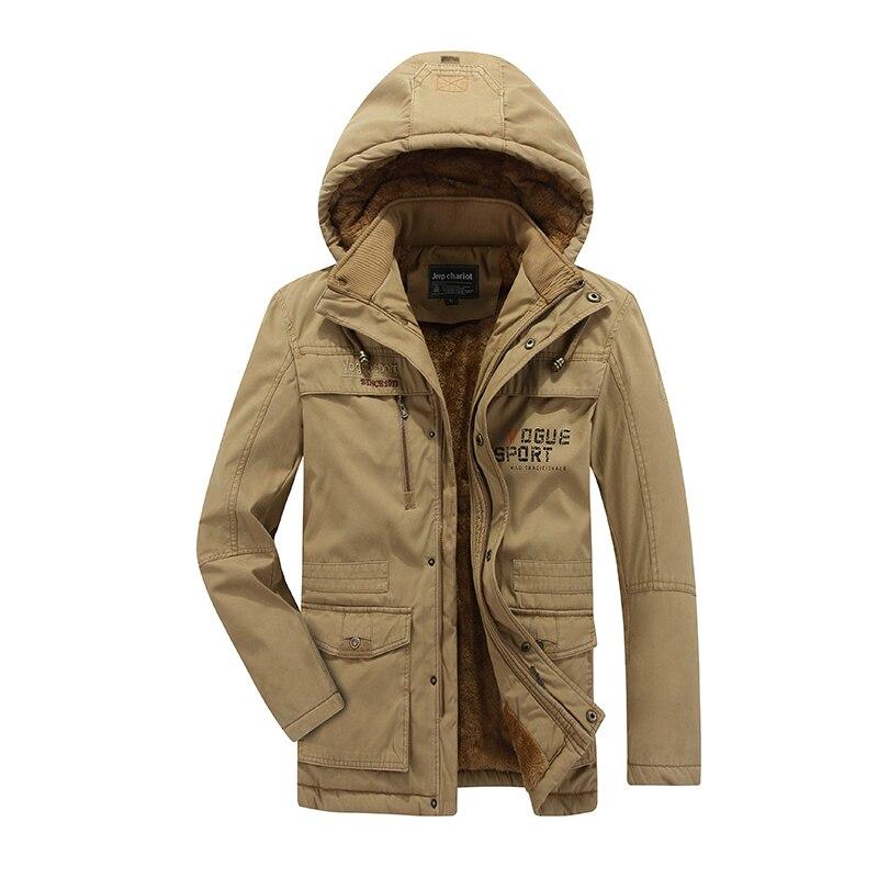 2016 Neue Ankunft Verdickung Parka Männer Marke Kleidung Männer Winter Militär Jacke Warme Mantel Mit Pelz Herren Parkas Plus Größe L-8xl