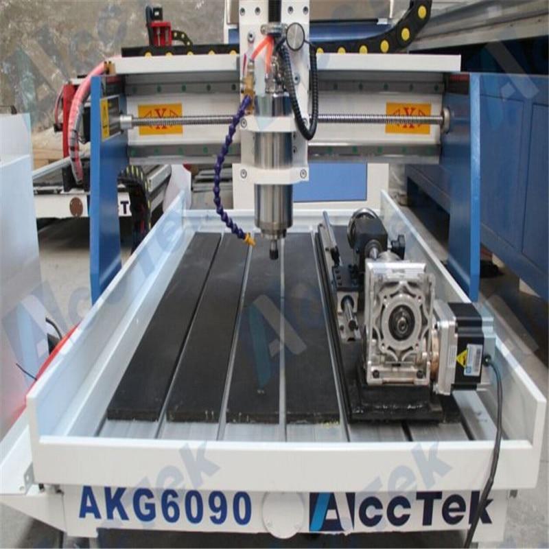 2018 Hot Sale!  3D Mini Woodworking Cnc Router Kit Machine AKG6090 For Metal