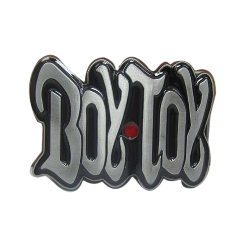 Fashion classic cowboys belt buckle metal exquisite 3D boy toy western brand diy mens designer luxury belt buckle new year gift