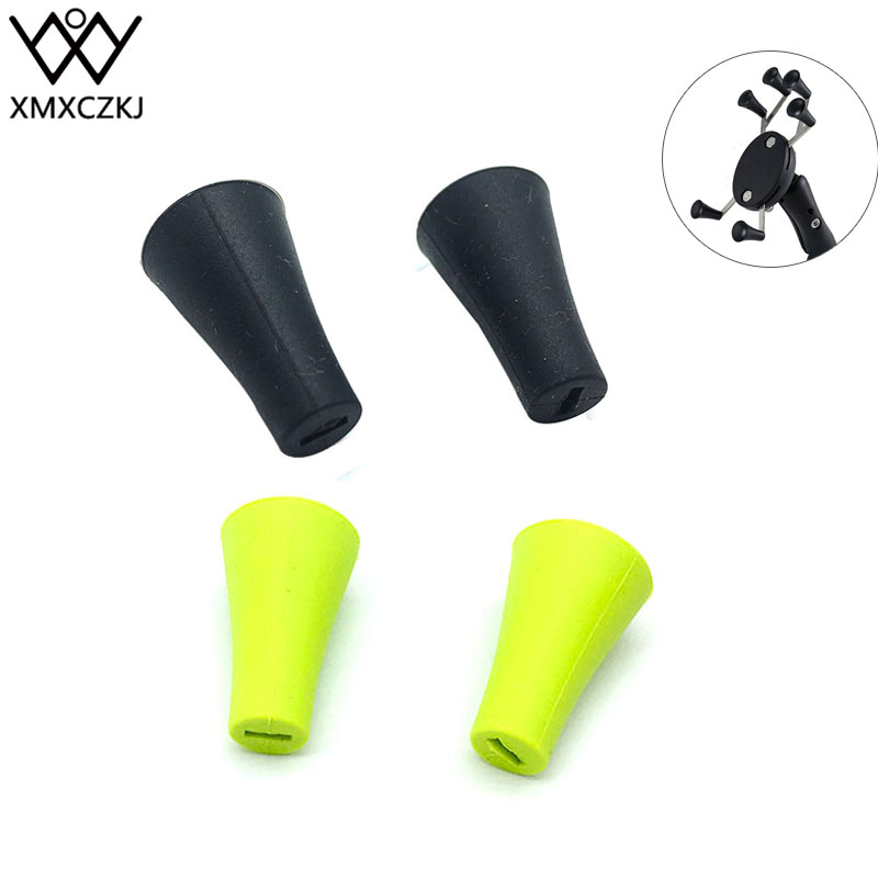 XMXCZKJ Bicycle Mobile Cell Phone Holder Accessories Support Stand For X-Grip Silicone Cap Smartphone Bike Motorcycle Grip Mount