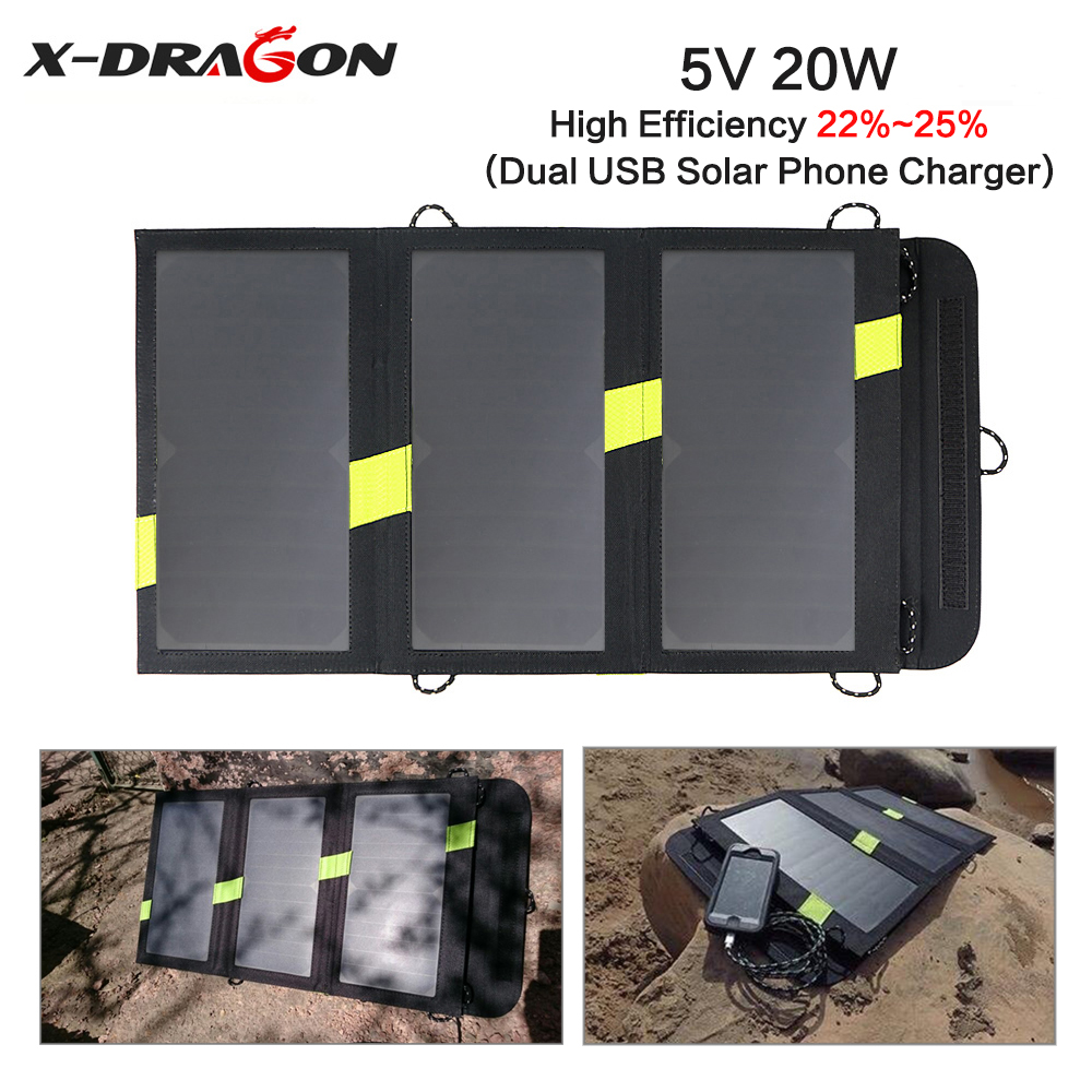 x dragon solar charger manual