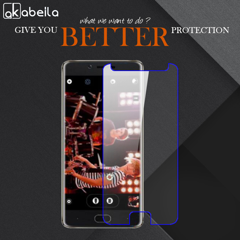 AKABEILA Phone Tempered Glass For Doogee Shoot 1 Shoot1 5.5 inch Tempered Glass Temperli Cam Steel Wholesale