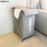 AIBOULLY Laundry Basket Storage Large Size Basket For Toy Washing Basket Dirty Clothes Sundries Storage Baskets Box
