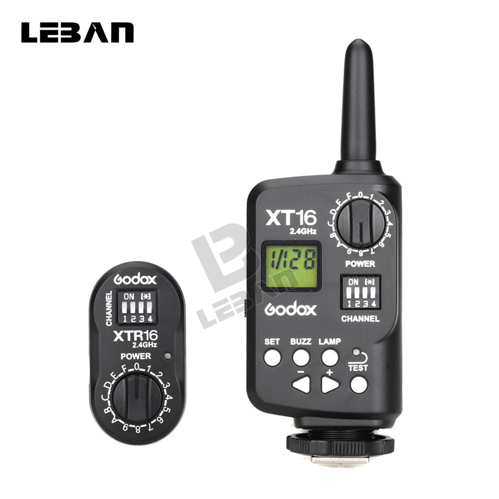 Godox XT 16 XT16 2 4G Wireless Remote Control Strobe Flash Trigger Receiver for Godox Witstro