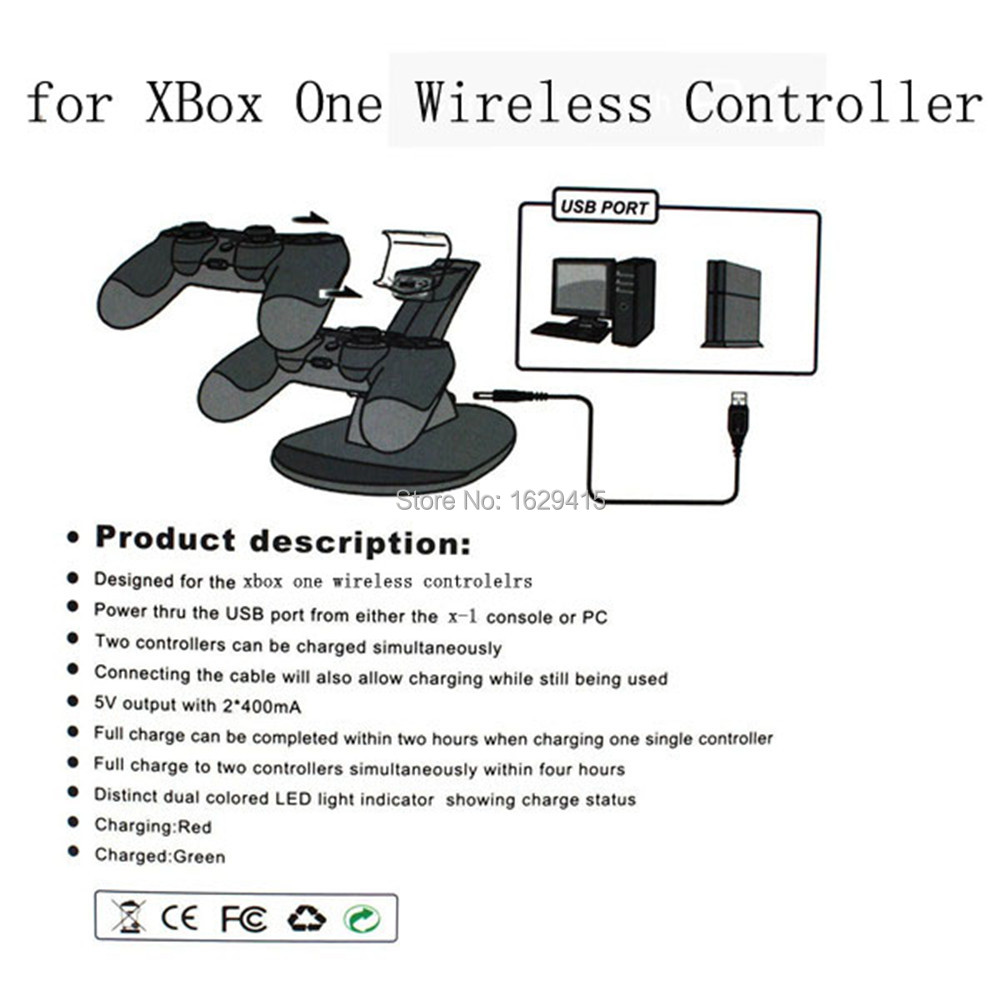 for xbox one controller charger 7