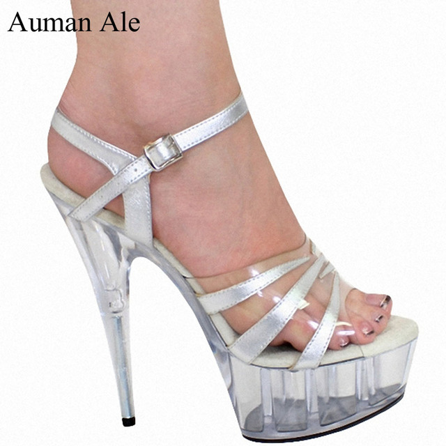Auman Ale summer shoes manufacturers selling wholesale instep with 15 cm  high heels waterproof platform heel e322ededed73