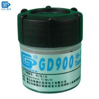 Free Shipping 30g High Performance Gray GD900 Thermal Conductive Compound Grease Paste Silicone For CPU GPU