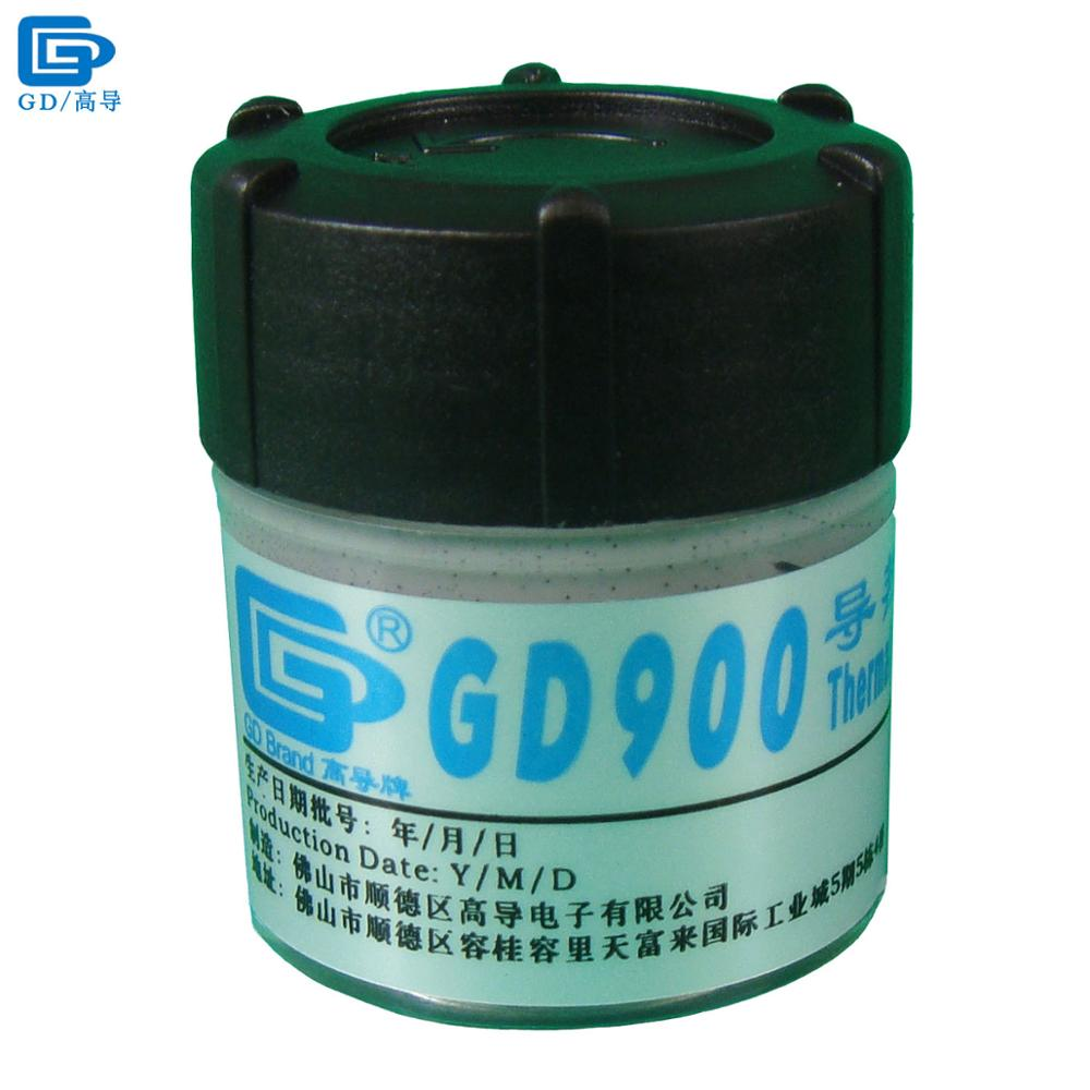 GD Brand Thermal Conductive Grease Paste Silicone GD900 Heatsink Compound Net Weight 30 Grams High Performance Gray For CPU CN30 injector style thermal conductive grease with silver paste 5ml