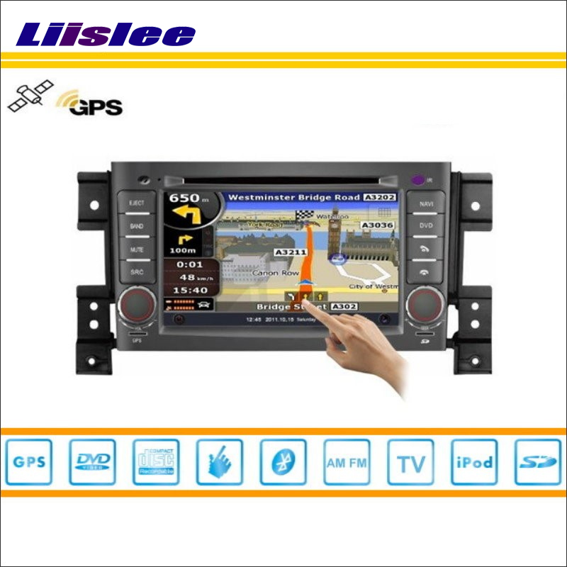 Liislee voiture Android multimédia pour Suzuki Grand Vitara 2008 ~ 2013 Radio lecteur DVD GPS Navi Navigation Audio vidéo système stéréo