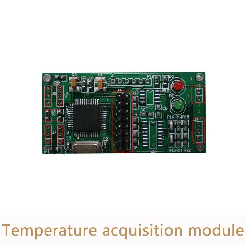 10pcs/lot DS18B20 Multi Channel Temperature Acquisition Module 4 Channel Data Acquisition Module 485 Transmission AD006