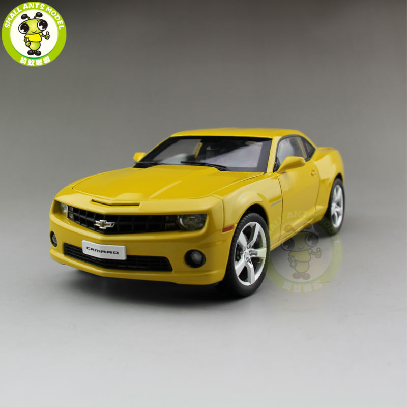 1/18 Chevrolet CAMARO Bumble Bee Diecast Model Car Yellow Color cheverolet monza ixo chevrolet car 1 43 model