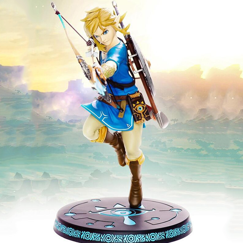 Anime action link 10 The Legend of Zelda Breath of the wild Ver. figrue toys 32cm painted collection model figures toy gift
