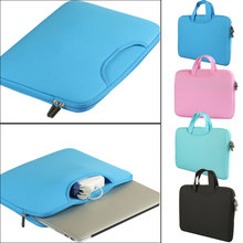 Buy Laptop Portable Ultrabook Notebook Soft Sleeve Laptop Bag Case Smart Cover for MacBook Pro iPad Pro Retina 11/13/15 inch OD889 directly from merchant!