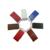 Los buques procedentes de china de Fábrica Stock logotipo personalizado de cuero blanco de metal usb 2.0 pendrive 128 gb