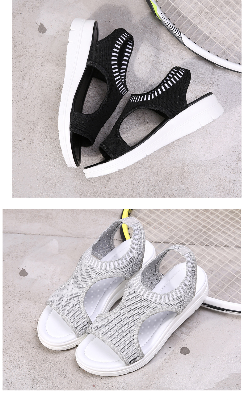 HTB1mwW3x1OSBuNjy0Fdq6zDnVXaM MLANXEUE Fashion Women Sandals For 2019 Breathable Comfort Shopping Ladies Walking Shoes Summer Platform Black Sandal Shoes