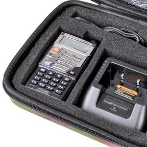 Image 5 - Baofeng UV 5R Walkie Talkie Camouflage Handbag UV 5R Radio Nylon Protect Portable Storage Case for 5RE 5RA Radio Accessories