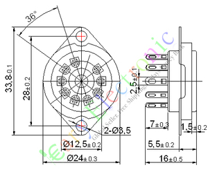 Image 2 - ขายส่งและค้าปลีก20ชิ้น9ขาหลอดสูญญากาศSOCKET SAVERเมาFR 12AX712AU7 ECC82 ECC83วิทยุชิ้นส่วนฟรีการจัดส่งสินค้า