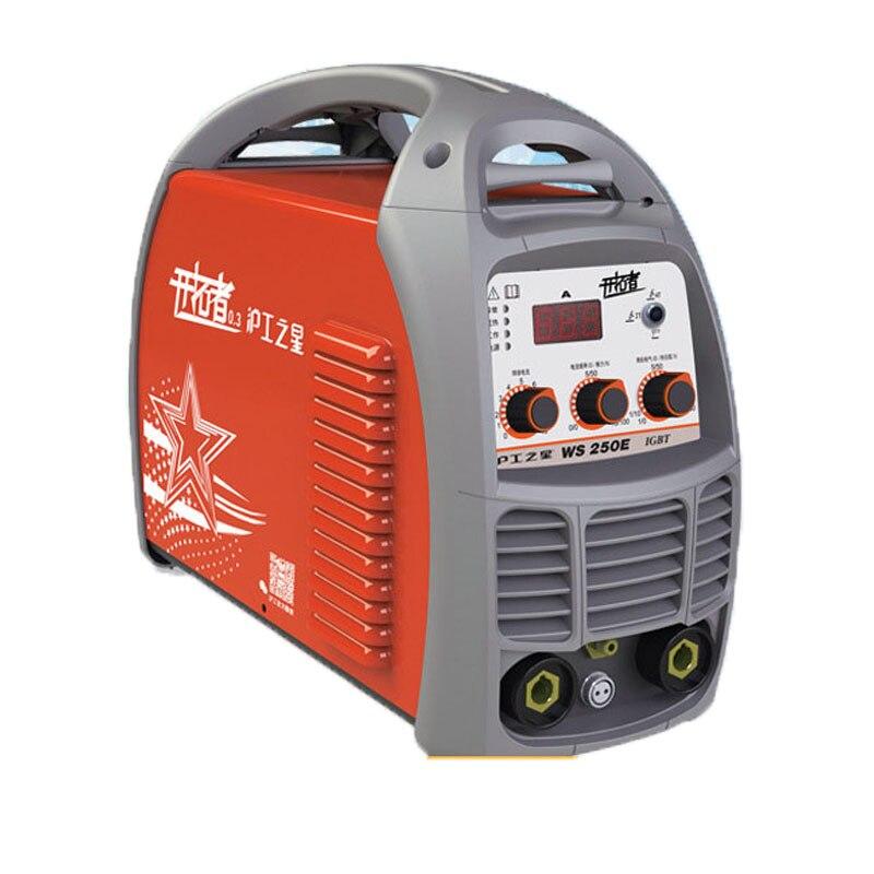 2019 New Mini Portable dual purpose DC Electric Welding Equipment Arc Welders machine inverter mma 220V 200A Hand arc welding