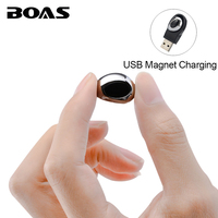 BOAS Mini Wireless 4 1 Bluetooth Earphone Music Handsfree Call Headphone With Microphone In Ear Headset