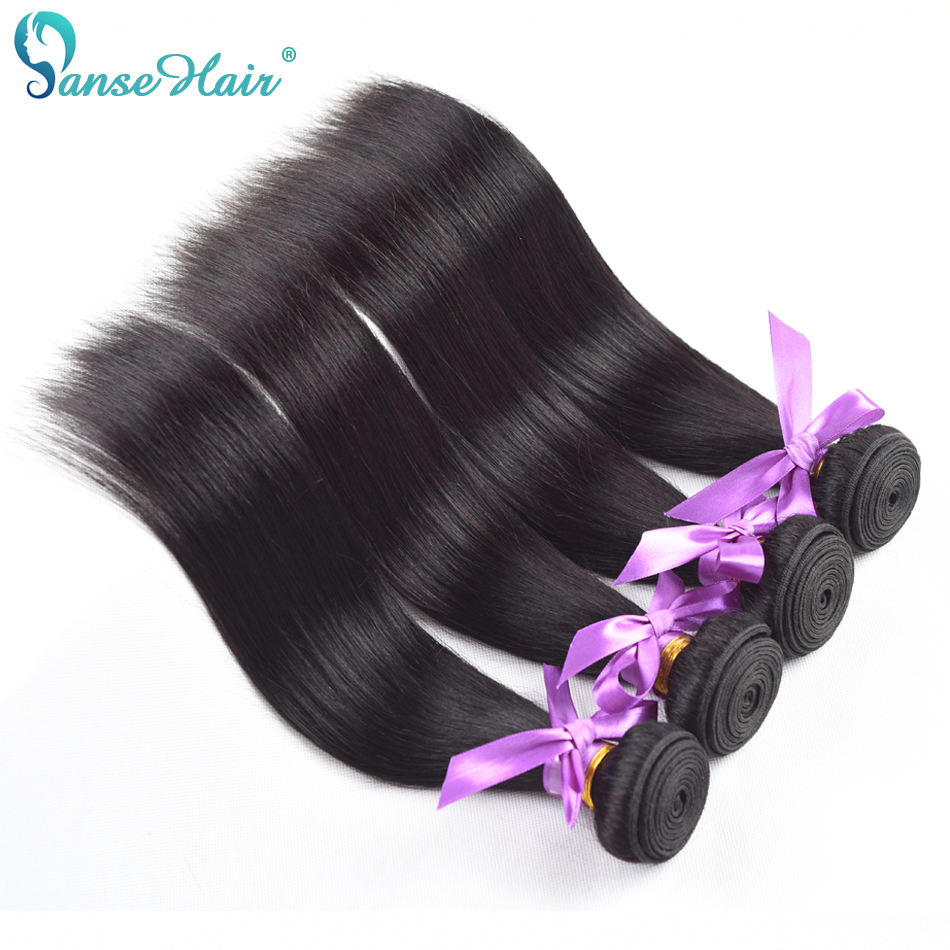 Vietnamese Hair Straight Panse Hair Weaving Non Remy Human Hair 4 Bundles Per Lot Customized 8-30 Inches Natural Black Hair