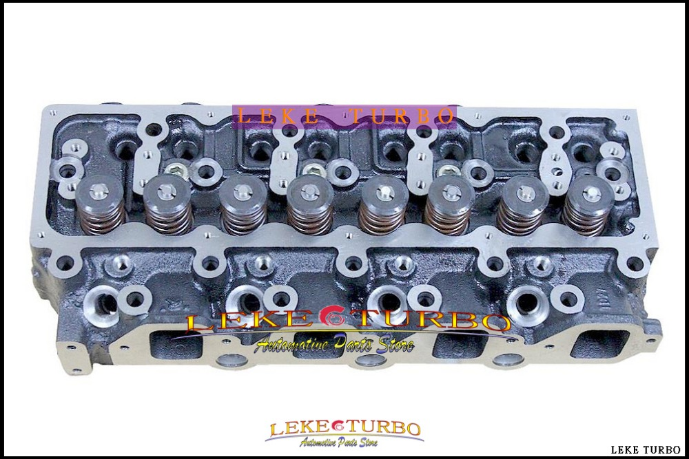 909 111 TD27 TD27T TD27-T Complete Cylinder Head Assembly ASSY For Nissan Pathfinder Mistral Terrano 86- 2.7L injector hole=M24