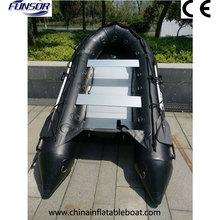 Инновационная Военная лодка с алюминиевым полом для спасания или рыбалки