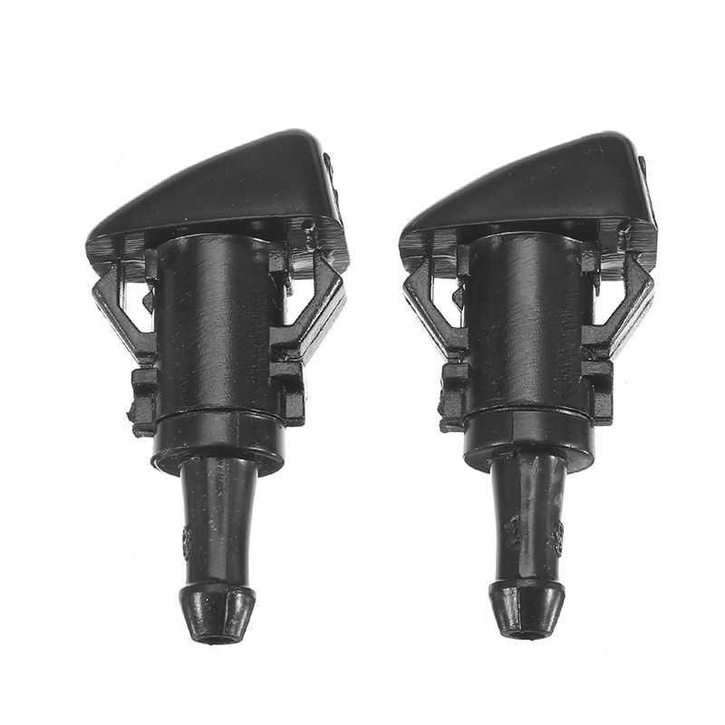 2X フロントフロントワイパー水噴霧ノズル現代ヴァーナ ix35 ix25 現代 Solaris 用 ix25 交換部品