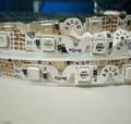 5050 RGBSMD 48leds/m bendable flexible LED strip;DC12V;non-waterproof;1m long;11.5W/m;8mm width;5m long