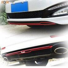 Спорт Красный Turbo GDI передний и задний бампер наклейка виниловая наклейка для Kia K5 Optima 2011 2012 2013