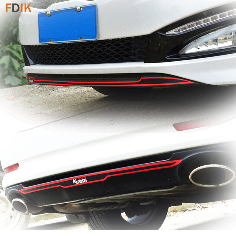Sport Red Turbo GDI Front&Rear Bumper Sticker Vinyl Decal For Kia K5 Optima 2011 2012 2013