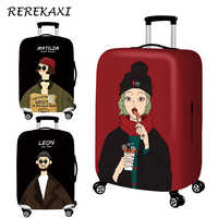 Cartoon Luggage Cover Suitcase Elastic Protection Covers 18-32 Inch Trolley Baggage Trunk Dust Case Cover Travel Accessories