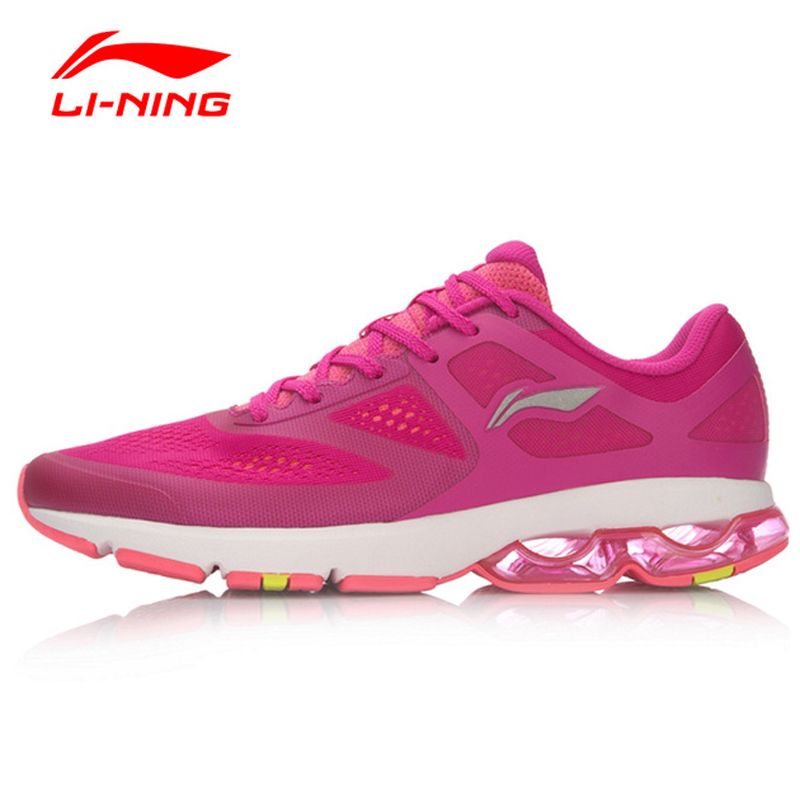 ФОТО Li-Ning Women Cushioning Light Running Shoes Breathable Sneakers Sports Shoes ARHL092 XYP455