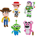 Toy Story Diamond Building Blocks Woody Jessie Buzz Lightyear Alien Bear Model Cartoon Toys Mini DIY Bricks Gifts