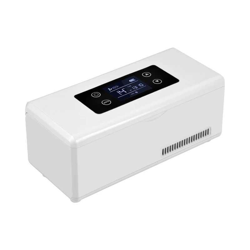 2018 Refrigerador Saco de armazenamento de Insulina Insulin Do Diabético Cooler Box Portátil Recarregável Mini fridge geladeira caixa de gelo saco de viagem