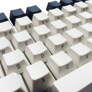 Image 4 - Nasadki na klawisze z PBT nadruk boczny ANSI ISO Cherry MX zestaw klawiszy do 60%/TKL 87/104/108 klawiatura mechaniczna MX pasuje do Anne iKBC Akko X Ducky